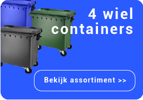 Rolcontainers 4 wielen